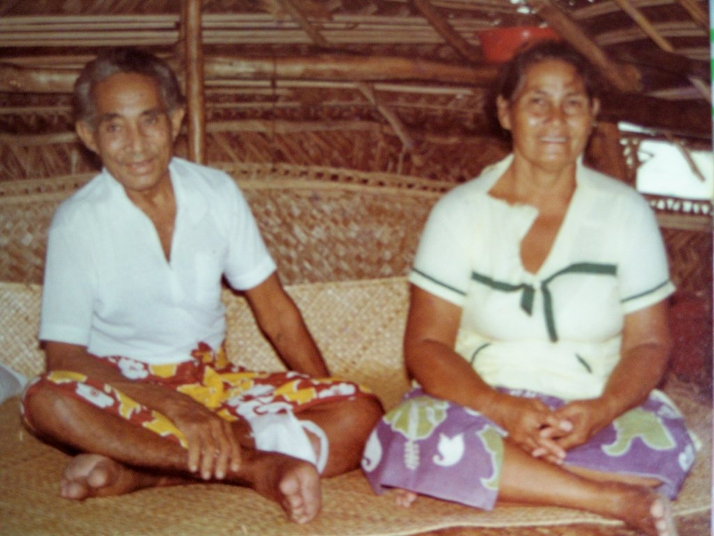 Grandma and Grandpa Miliama and Elisala